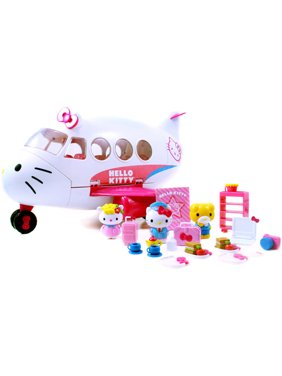 2d4018138 Product Image Hello Kitty Jet Plane Play Set