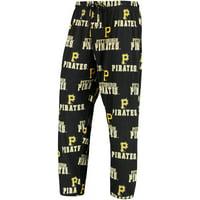 Pittsburgh Pirates Concepts Sport Pastime Knit Pants - Black
