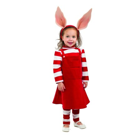 Deluxe Olivia Toddler Costume - Toddler](Olivia Costume)