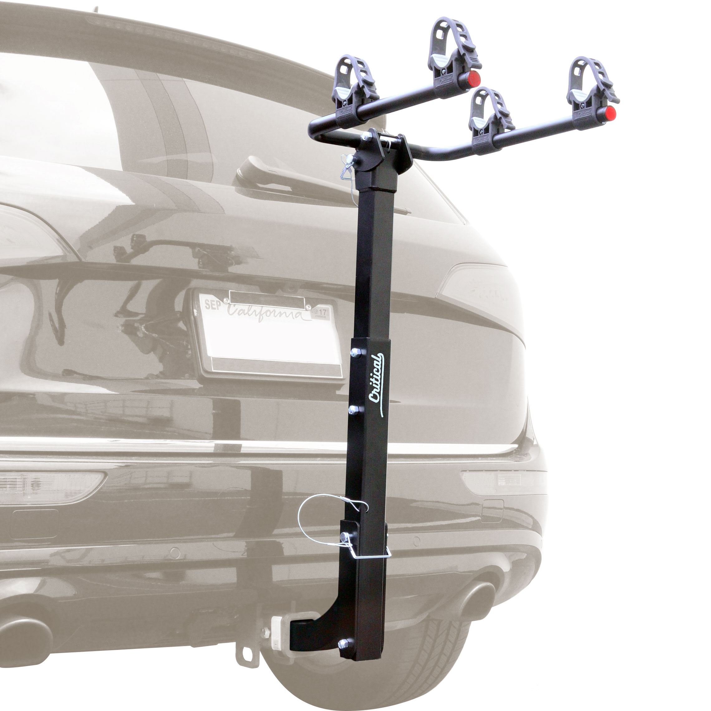 Critical Cycles Lenox 2-Bike Hitch Mount Rack with 2-Inch Receiver by Critical Cycles