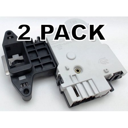 2 Pk, Supco ES1004C, Clothes Washer Door Lock Switch Assembly for LG 6601ER1004C Brand New, Pack of 2, Supco, ES1004C, washing machine door lock switch assembly replaces LG Appliances, 6601ER1004C.