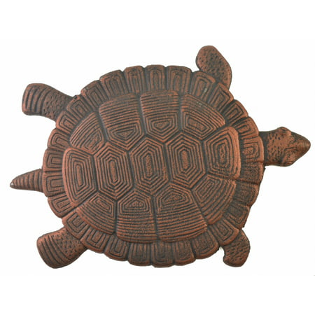 Turtle Stepping Stone - Bronze Cast Iron - 14.5