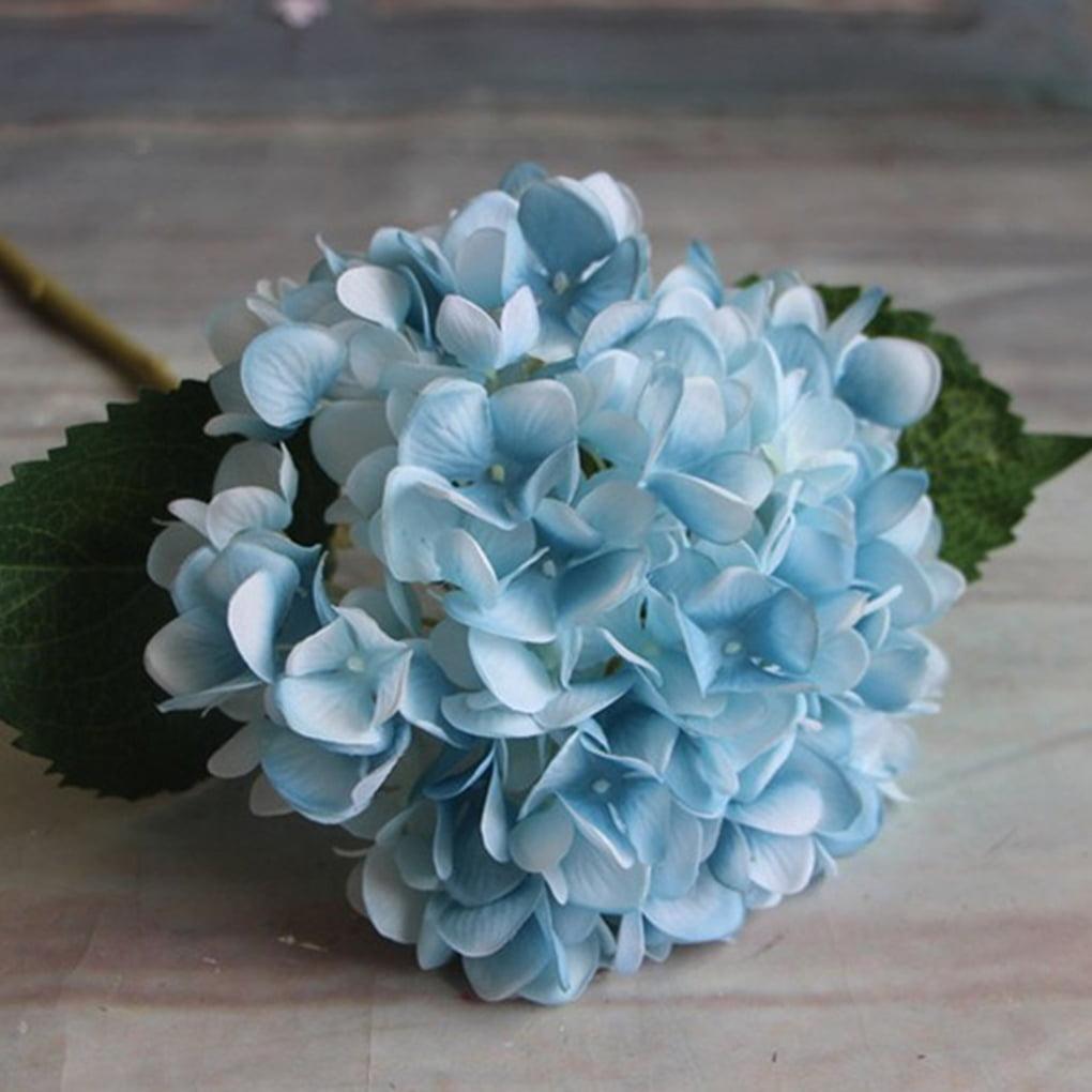 Silk Artificial Hydrangea Flower Bouquet Arrangement Home Wedding Christmas Decoration