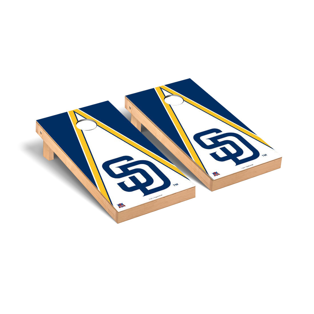 San Diego Padres Triangle Cornhole Game - No Size