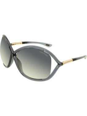 198afa43f12 Product Image Tom Ford Women s Gradient Whitney FT0009-0B5-64 Grey  Butterfly Sunglasses