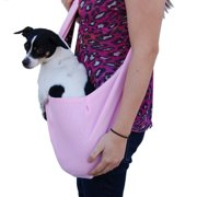 Pet Dog Cat Piggy Soft Carrier Tote Sling Single Shoulder Bag (Gift for Pet)