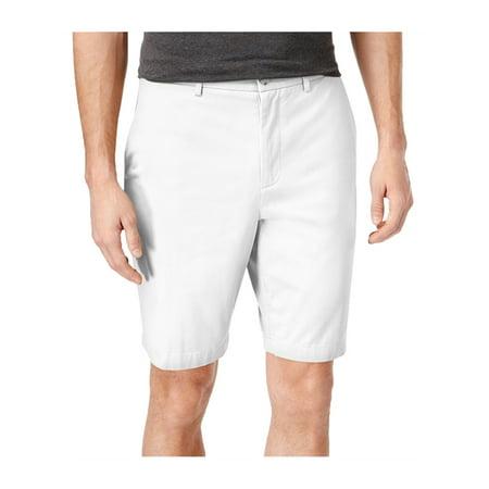 Michael Kors Mens Flat Front Casual Chino Shorts white 36 - image 1 de 1