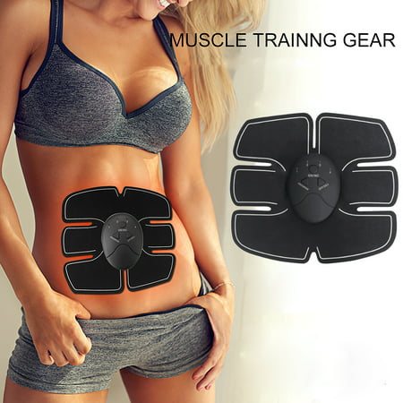 ABS Stimulator, Muscle Stimulation Abdominal Muscle Trainer Smart Body Building Fitness Ab Core Toners Work