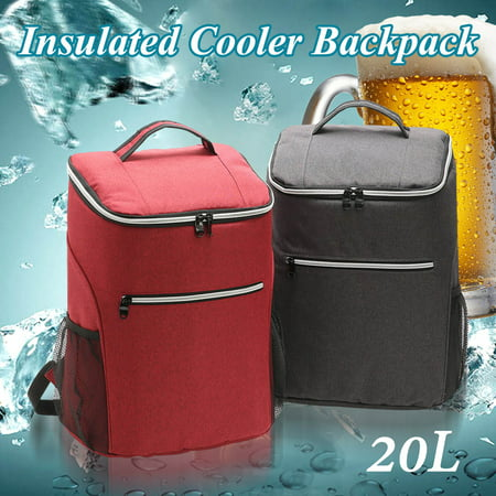 20L Waterproof Large Portable Insulated Thermal Lunch Cooler Bag Storage Box Picnic Pouch for Adults, Ladies and Men Durable (Adult Online Stores)
