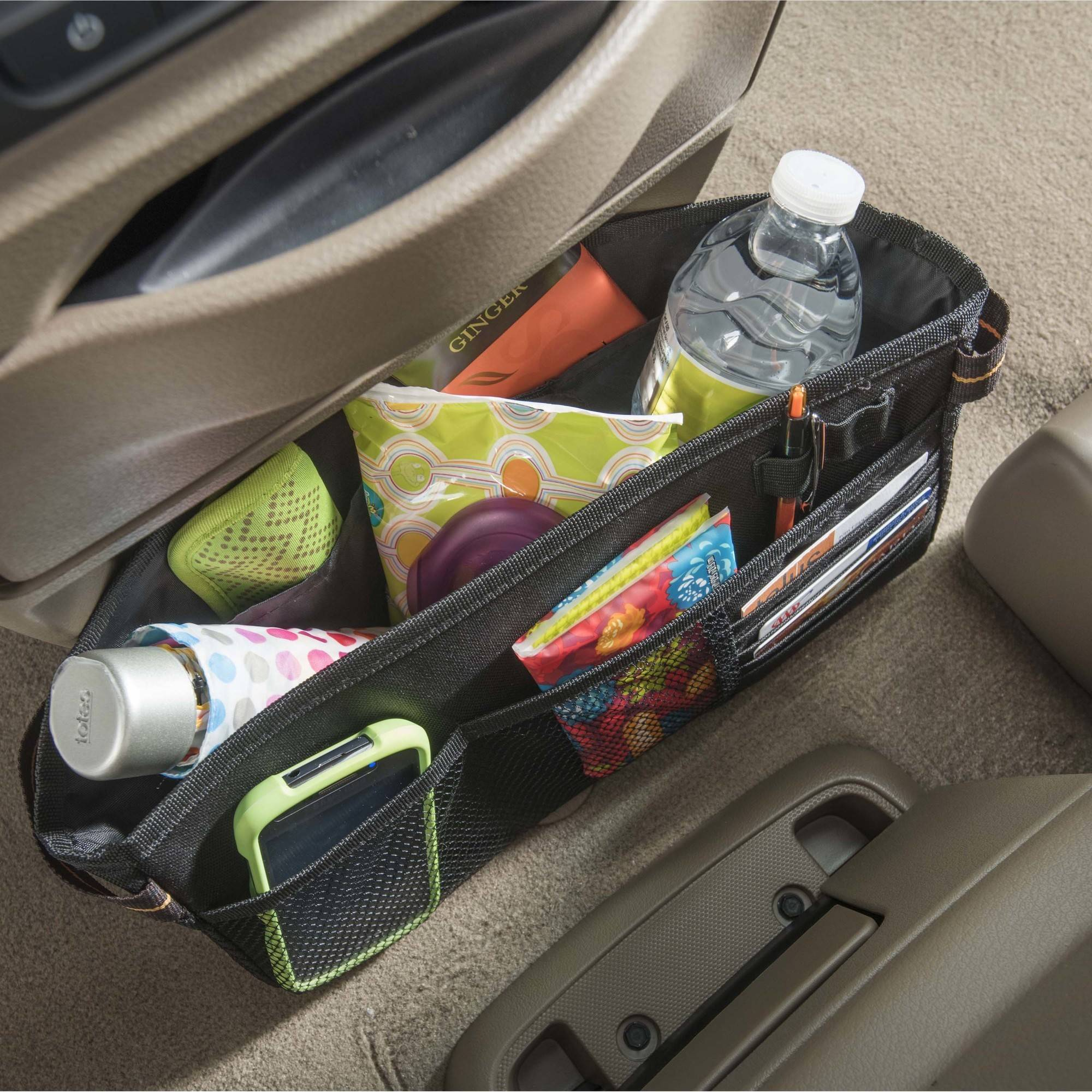 High Road Express Car Front Seat Caddy