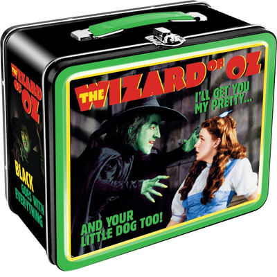 Aquarius Wizard of Oz Witch Tin Tote Lunch Box