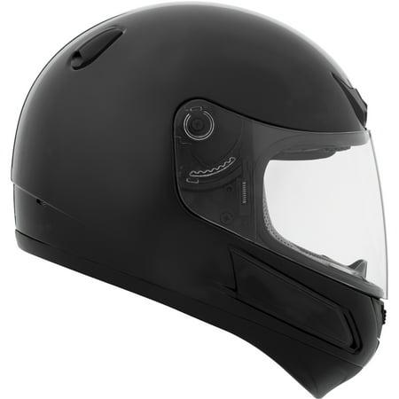Bern Black Summer Helmet - CKX Munster VGK1 Full-Face Helmet, Summer - Youth Single Shield