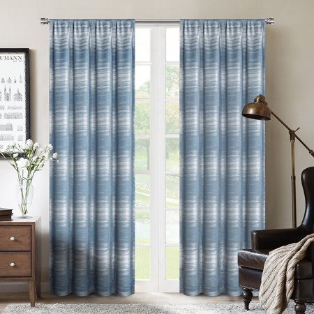 Crescent™ Total Blackout with Magic Liner™ Rod Pocket Single Curtain Panel 52