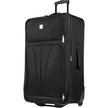 "Protege 28"" Monticello Black Check-In Luggage"