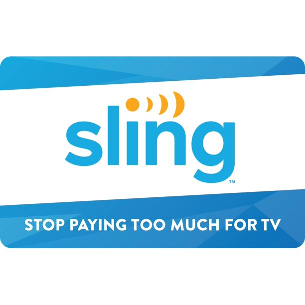 Sling TV $25 Gift Card [Email Delivery]