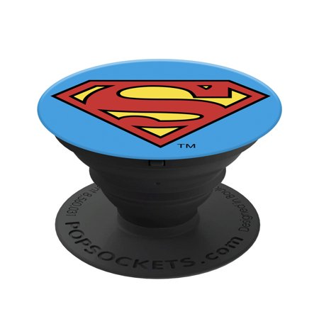 PopSockets: Collapsible Grip & Stand for Phones and Tablets - Superman Icon