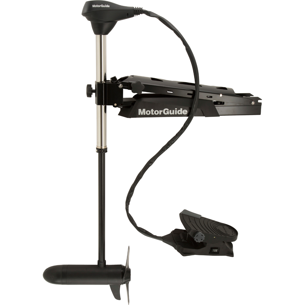 MotorGuide X5 24V Foot-Control Bow Mount Digital Variable Speed Freshwater Trolling Motor with Sonar by attwood