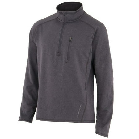 - Noble Outfitters Shirt Mens Performance L/S Zip Fleece Mock 11502
