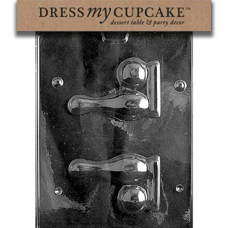 Dress My Cupcake Chocolate Candy Mold, Bowling Pin and Ball (Bowling Cupcakes)
