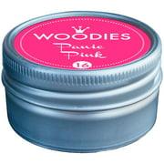 Woodies Dye-Based Ink Tin-Panic Pink