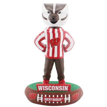 Forever Bobbleheads (Wisconsin Badgers Mascot Baller Special Edition Bobblehead NCAA )
