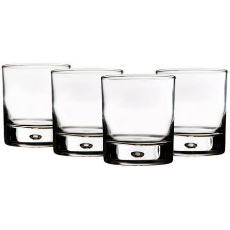 Red Series Bubble Tumblers - Set of 4 Glasses ()