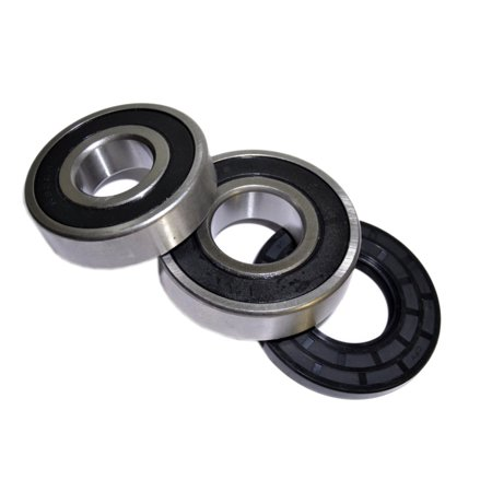 HQRP Bearing and Seal Kit for Gibson 131525500 41739012890 41739012891 41739022890 41739022891 970-C48112-10 CFW2000FW2, Kenmore 131462800 131275200 Front Load Washing Machine Washer Tub +