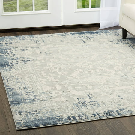 Palmyra Collection Distressed Oriental Area Rug by Home Dynamix ()