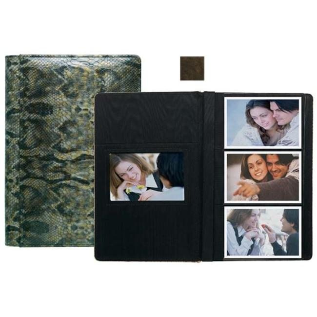 Raika VI 127 BROWN 4inch x 6inch Three High Photo Album - Brown