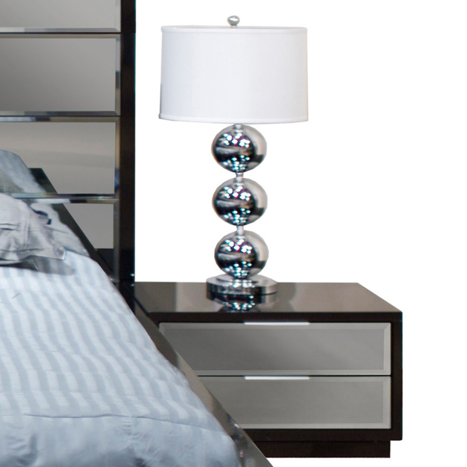 Mera 2 Drawer Nightstand