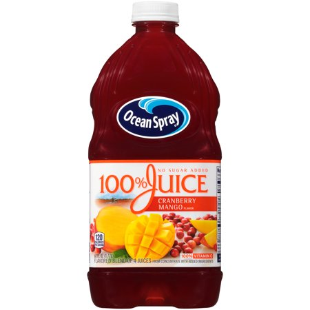 Ocean Spray 100% Cran-Mango Juice, 60 Fl. Oz.