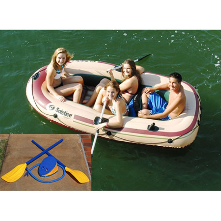 Voyager 4 Person Boat w/Oars