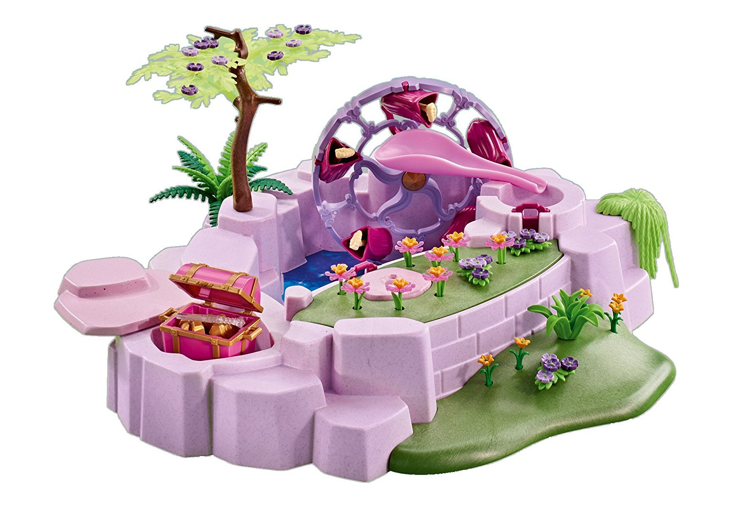 Click here to buy PLAYMOBIL Add On 6563 Enchanted Fairy Pond by Playmobil.