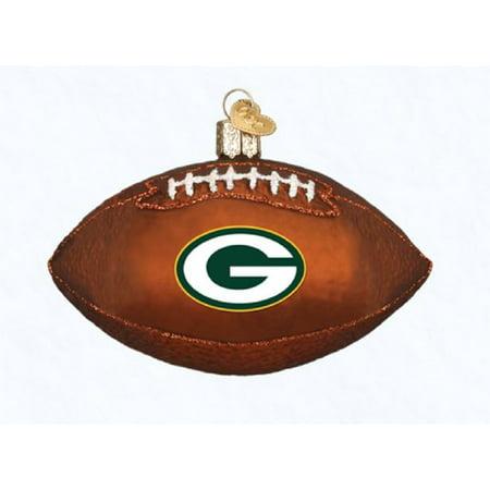 Green Bay Packer Football Ornament - Green Bay Packers Ornaments
