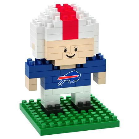 - Buffalo Bills 3D NFL BRXLZ Bricks Puzzle Player