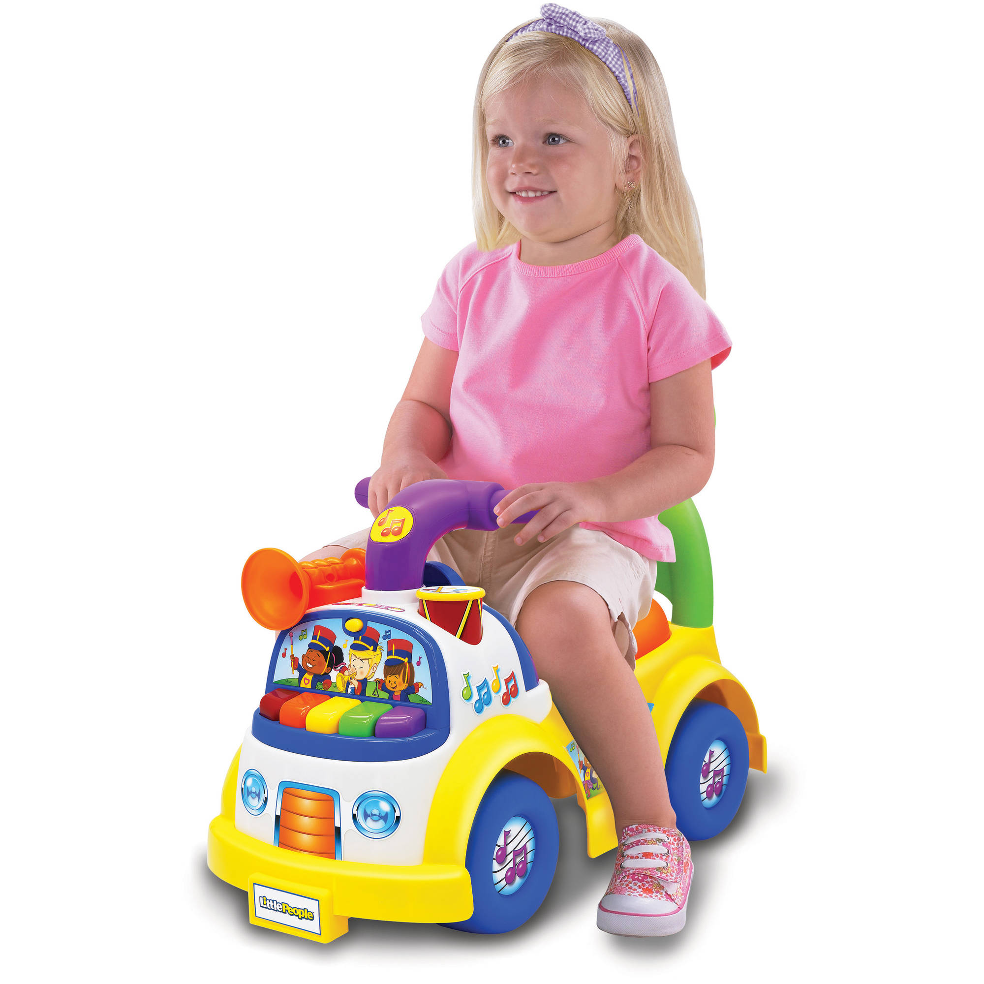 Little People Music Parade Ride Walmart