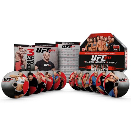 Ufc Fit Complete 12 Week Home Training Fitness Exercise Workout Program Dvd Set