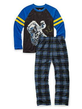 Boys' Sleepwear 2-Piece Set, Astronaut Print 6019A