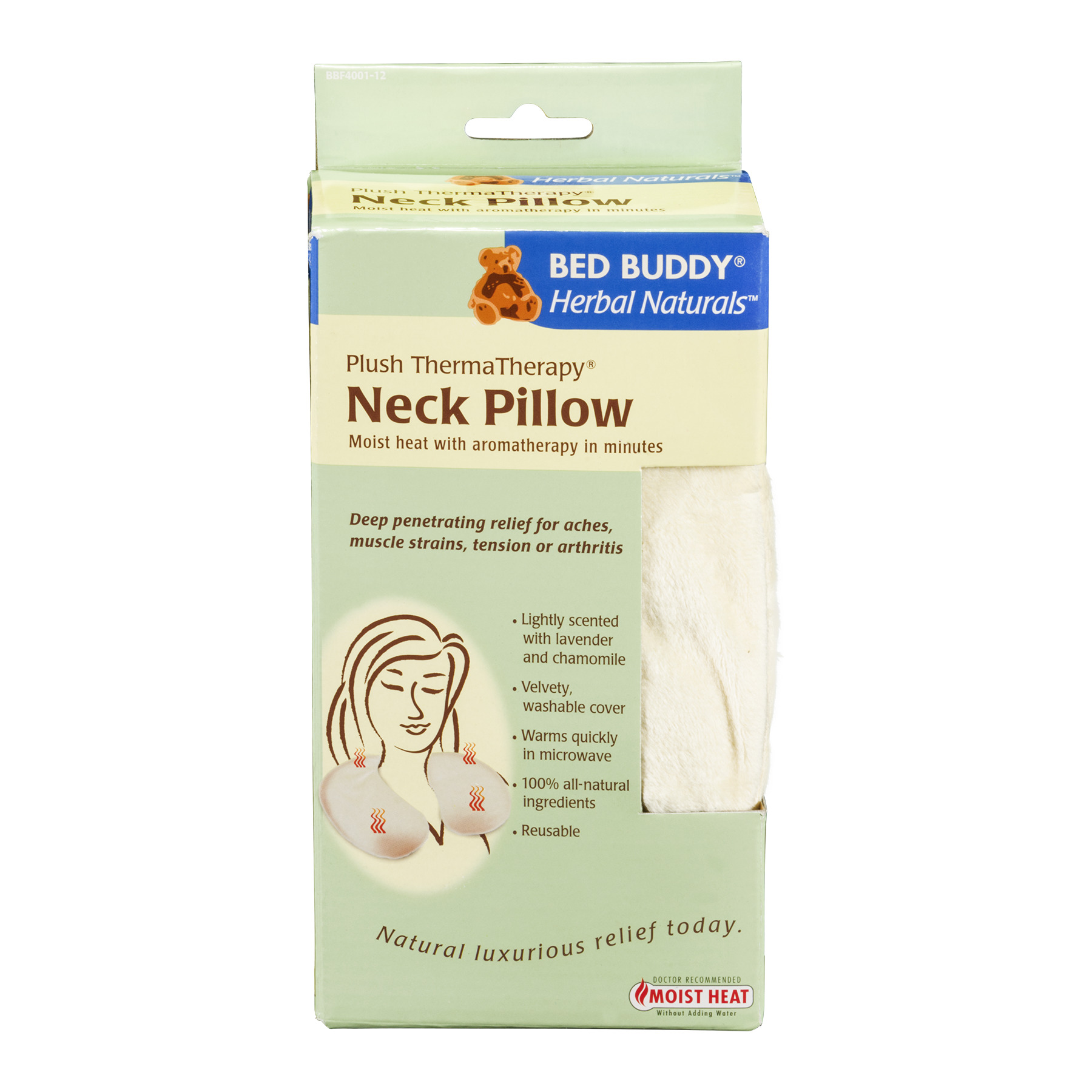 Bed Buddy Herbal Naturals Moist Heat with Aromatherapy Neck Pillow