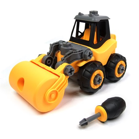 Wistoyz Take Apart Car Construction Toys for 2-3 -4 -5-6-7 Years Old Boys & Girls, STEM Toys with Screwdriver, Build Your Own Car Kit, Toy Cars for 2+ Year Old, - 3 Yr Old Boy Toys