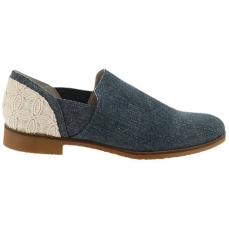 Lori Goldstein Collection Low Ankle Slip-On Elastic Goring
