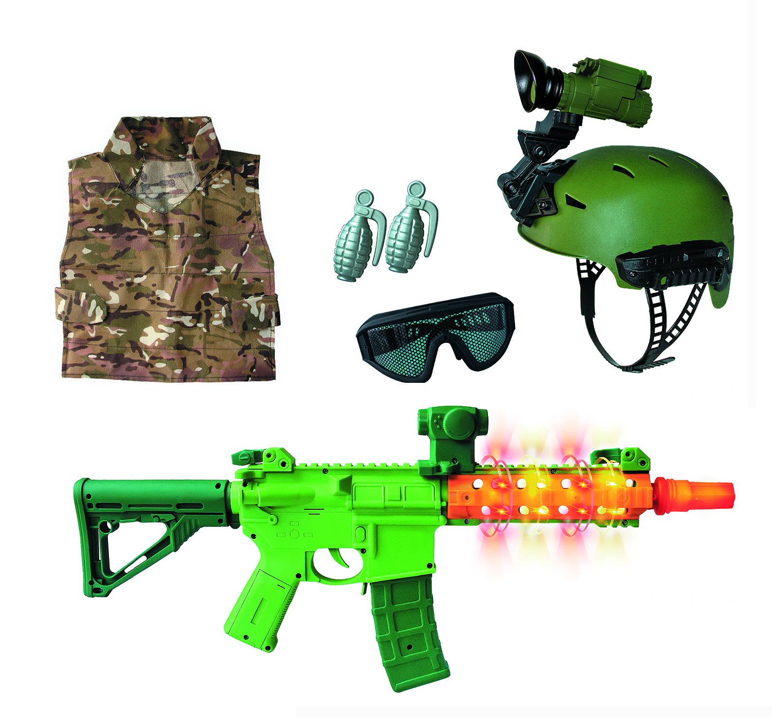 Adventure Force Deluxe Action Role Play Set, 7.0 PIECE(S)