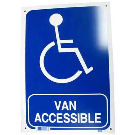 - NeoPlex Van Accessible Sign
