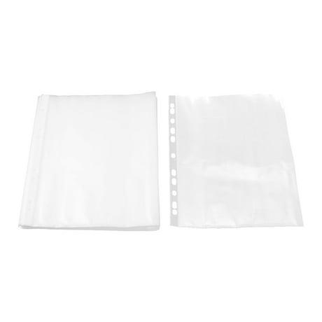 Unique bargainsoffice plastic a4 paper storage sheet for Craft plastic sheets walmart