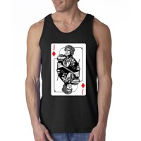 Trendy USA 138 - Men's Tank-Top Tyrion Lannister Jack Card Game of Thrones XL Sapphire