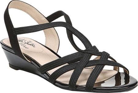 Life Stride Women/'s   Yaya Strappy Wedge Sandal