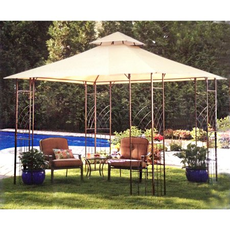 garden winds replacement canopy top for bbb trellis gazebo riplock 350. Black Bedroom Furniture Sets. Home Design Ideas