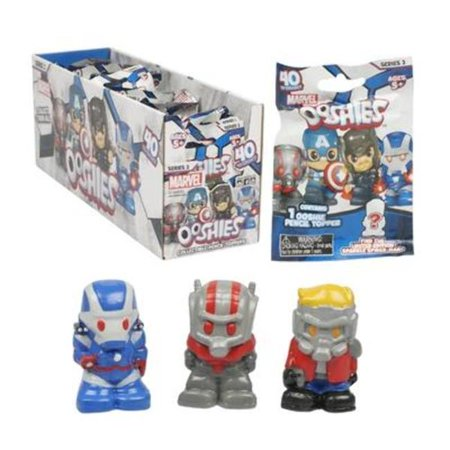 Marvel 2328728 Ooshies Pencil Toppers, Assorted Color - Case of 24 (Fidget Pencil Toppers)