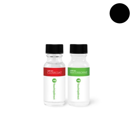 Metallic Onyx (Volvo Onyx Black Metallic Touch Up Paint (717)- Package)