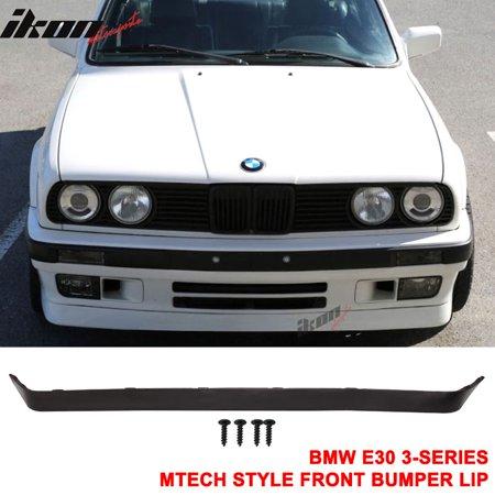 Fits 84-92 BMW E30 Lower Valance OE IS V2 MT Msport Front Bumper Lip Spoiler